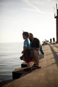Boy on the Pier