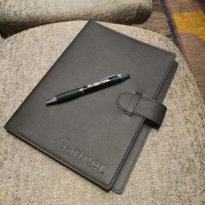 Folder on a chair